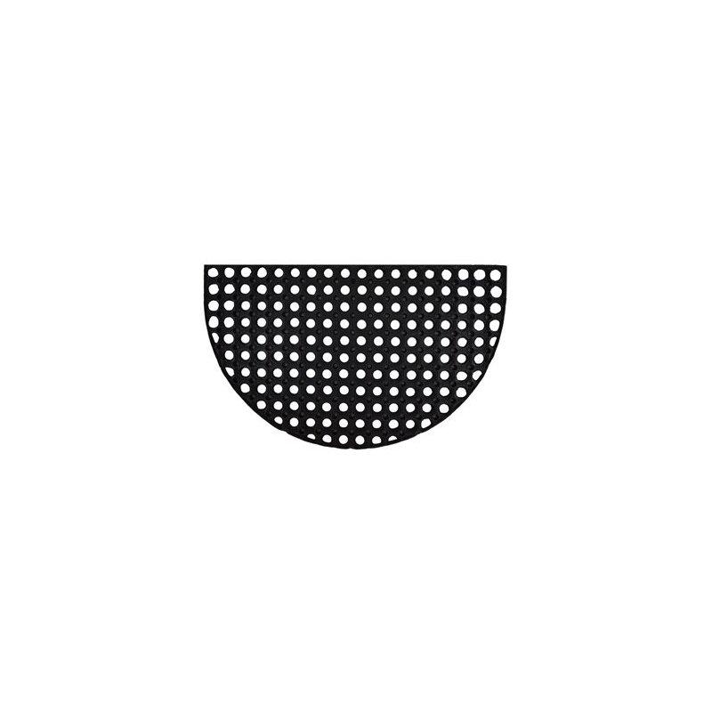 Wycieraczka Gummy półokrągła 45x75 cm gumowa