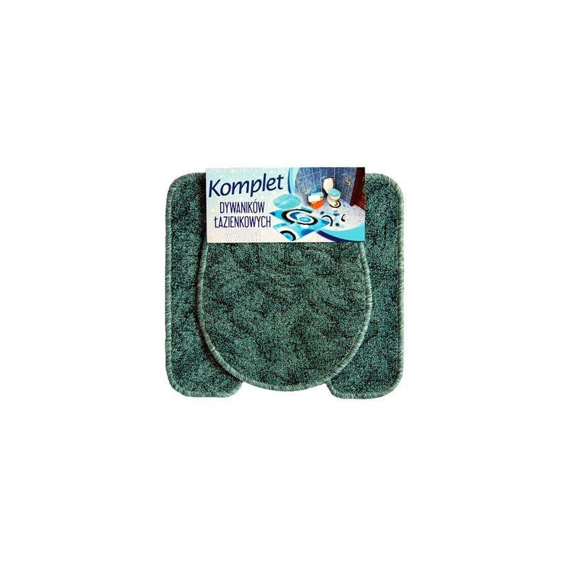 Dywanik łazienkowy 2 części komplet mata