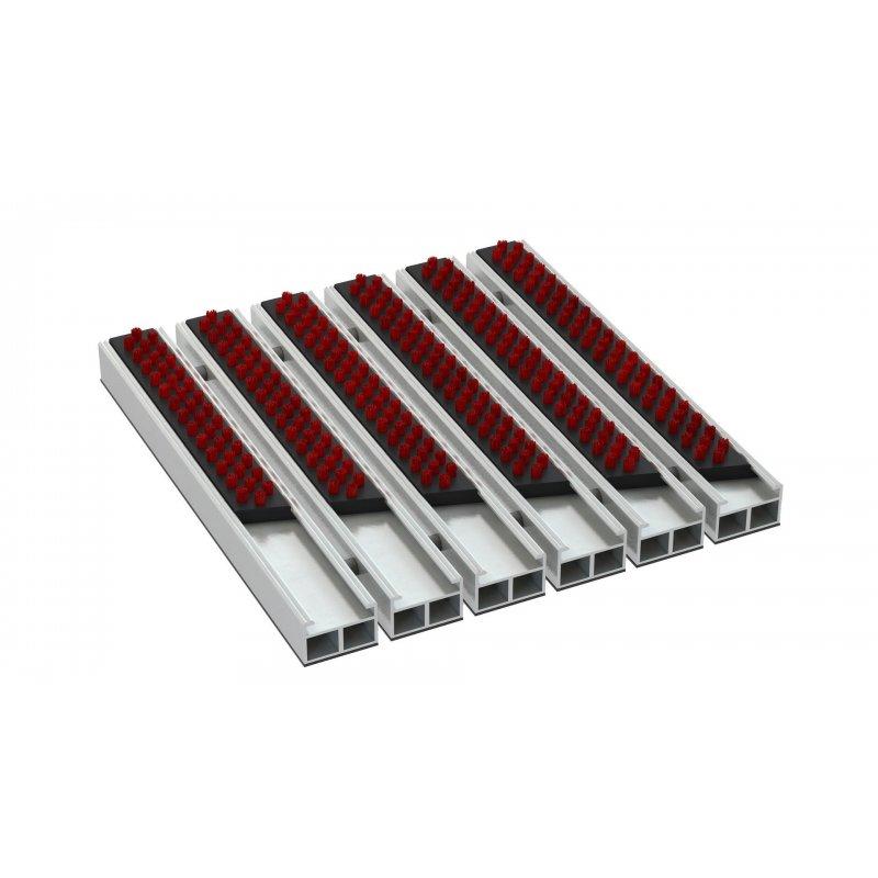 Wycieraczka aluminiowa alumata Gamma Standard 12 mm