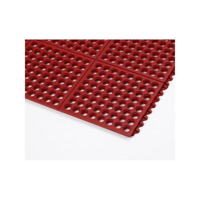Anti-fatigue mat Cushion Ease Red