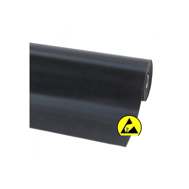 Mata elektrostatyczna Rib n Roll ESD delikatny prążek 3 mm