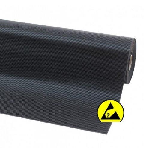 Mata elektrostatyczna 3 mm ESD Rib n Roll delikatny prążek 754S0045BL
