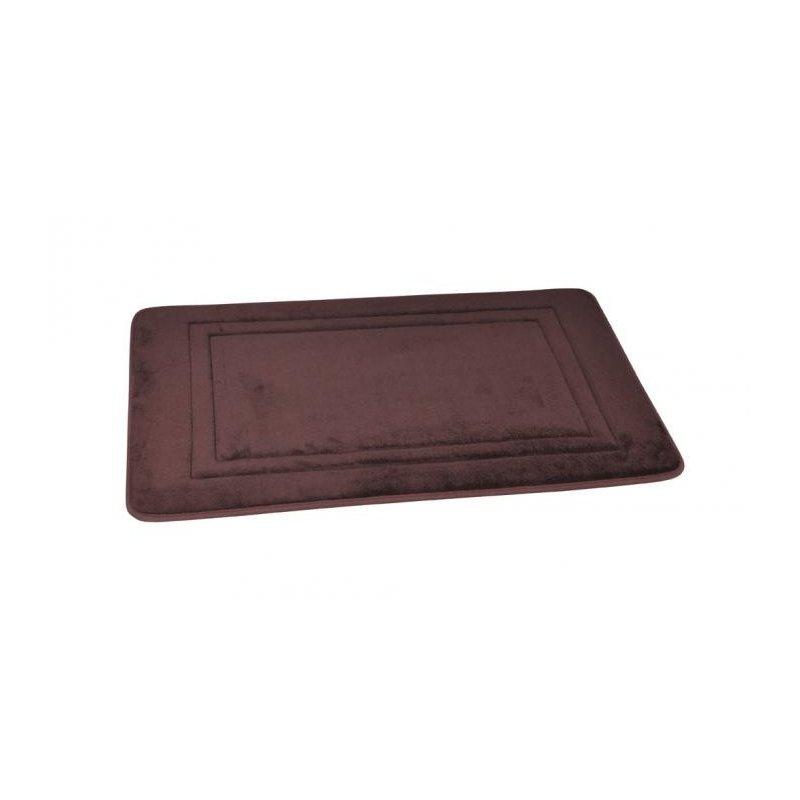 Dywanik łazienkowy Soft Lux Brown 50x80