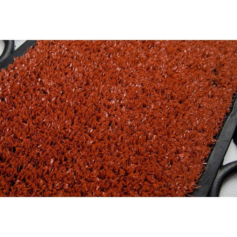 Wycieraczka gumowa środek sztuczna trawa Dakota