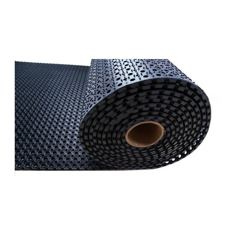 Mata gumowa plaster miodu rolka 1x9,24 m h:13 mm