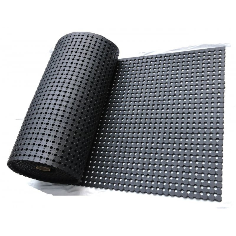 Optima Gummimattenrolle, 100 cm x 930 cm H: 10 mm