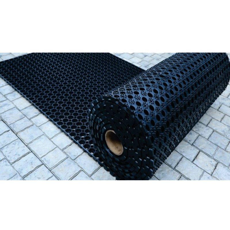 Rubberen matrol Domino 100x750 cm 22 mm