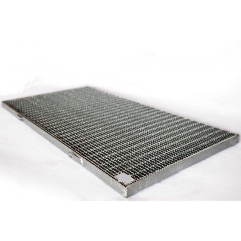 Wycieraczka metalowa 120x60 cm