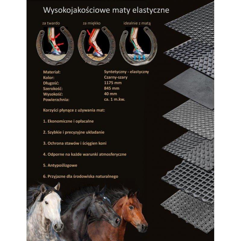 Mata drenażowa na wybieg dla koni
