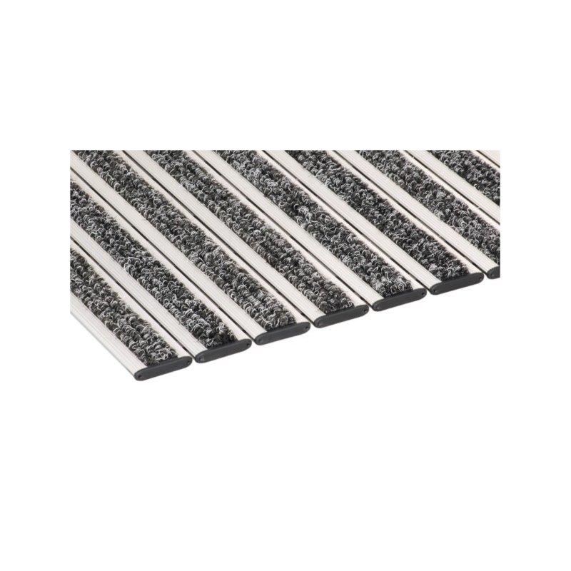 Wycieraczka aluminiowa Roma ryps tekstylny