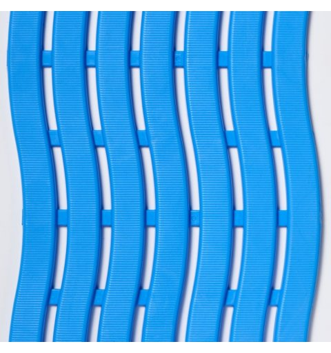 Mata basenowa antypoślizgowa Soft Step higieniczna niebieska